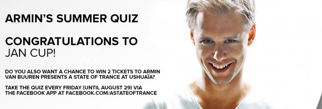 Winner Announced! Armin's 9th Summer Quiz