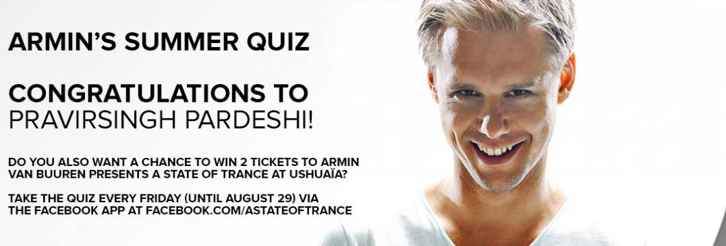 Winner Announced! Armin's Summer Quiz #3