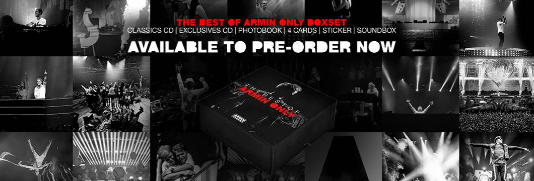 Pre-order the 'The Best Of Armin Only Special Box'