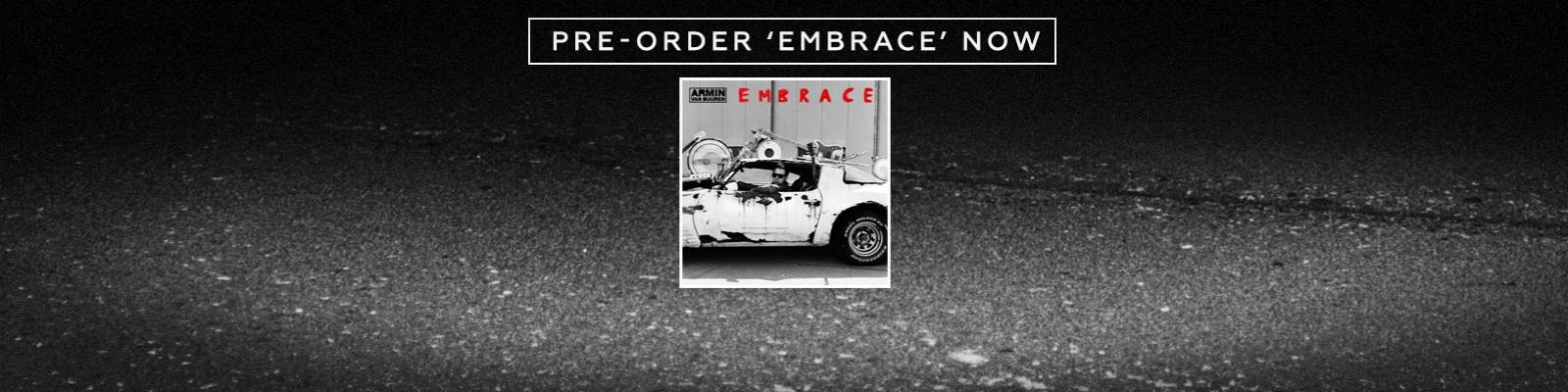 Armin van Buuren reveals full tracklist to 'Embrace' + digital pre-order!