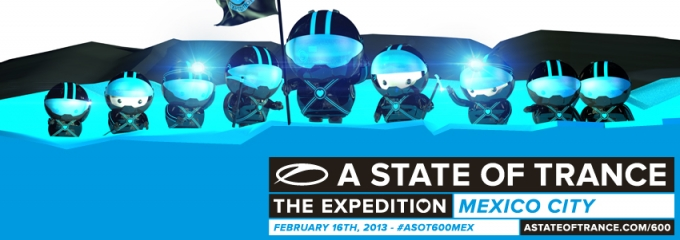 Let's count down to ASOT600 Mexico!