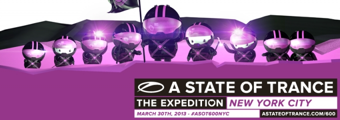 ASOT600 New York timetable announced!