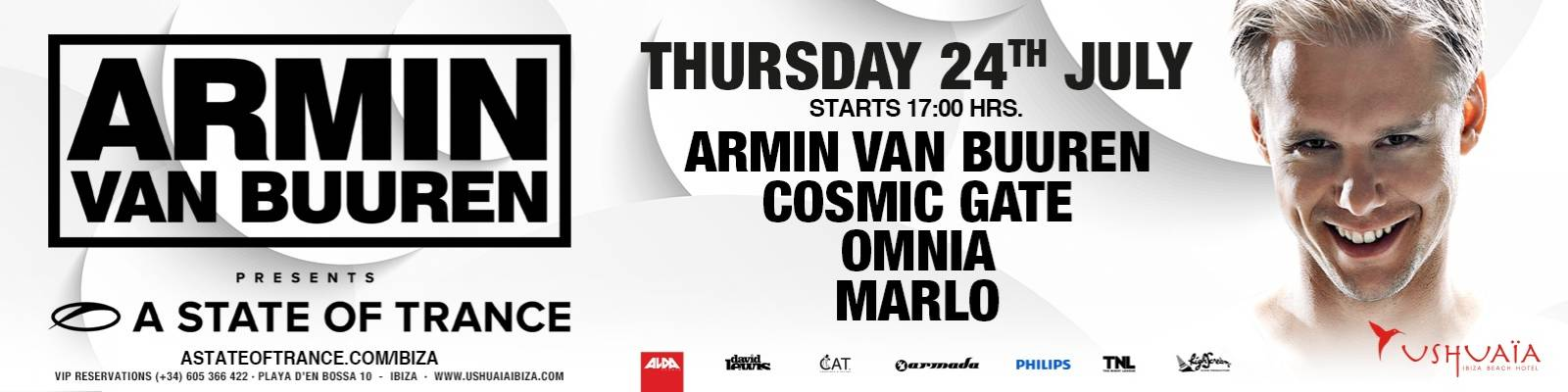 Timetable: ASOT Ushuaia Residency July 24th