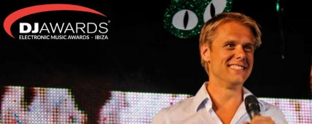 Armin nominated for DJ Awards!