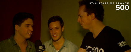 A State of Trance 500 Den Bosch report: Interview with Will Holland & Estiva