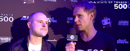 ASOT 500 Den Bosch – Armin interviews Above & Beyond