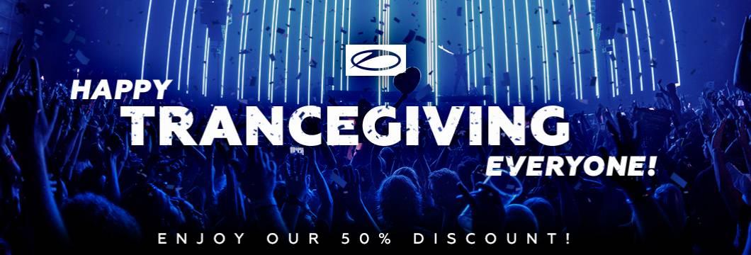 Happy Trancegiving! Get a 50% discount on all ASOT albums!