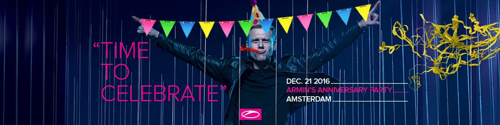 TIME TO CELEBRATE: Armin's anniversary party!