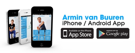 Download the free official Armin van Buuren app!