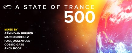 A State Of Trance 500 5CD out now!