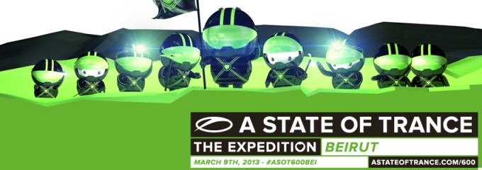 Get your ASOT 600 ticket for Beirut!