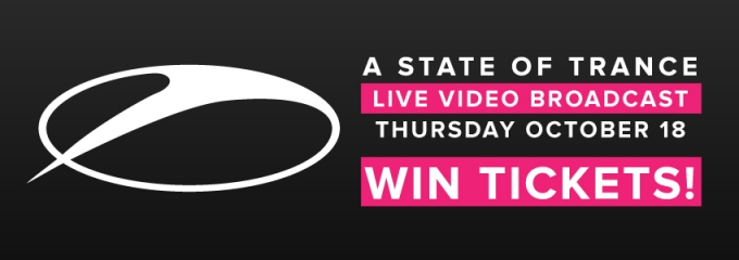 Win tickets to the exclusive live broadcast of A State of Trance at Escape!