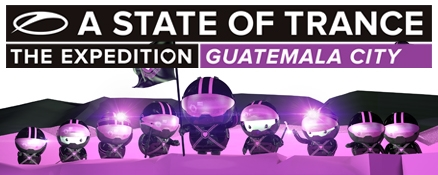 A State of Trance 600 will touch down in… Guatemala city!