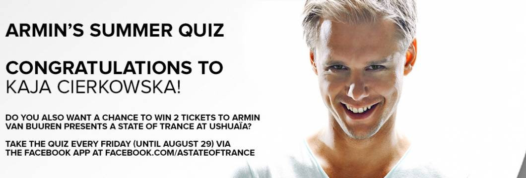 Winner Announced! Armin's 5th Summer Quiz