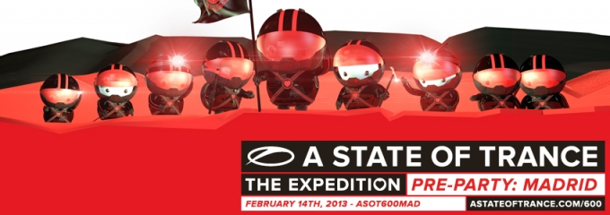 Thank you Madrid & worldwide ASOT600 listeners!