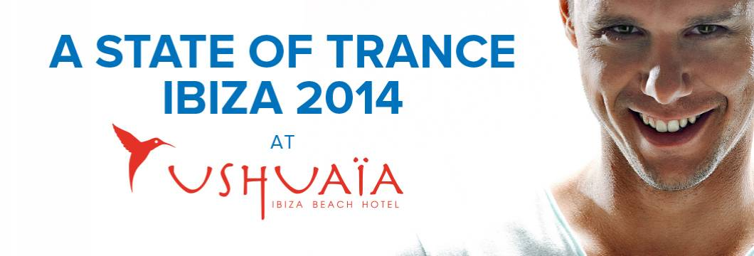 Armin van Buuren Announces Brand New Compilation 'A State Of Trance at Ushuaia, Ibiza 2014'
