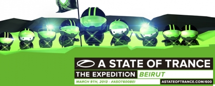 Line-up for ASOT 600 in Beirut complete!