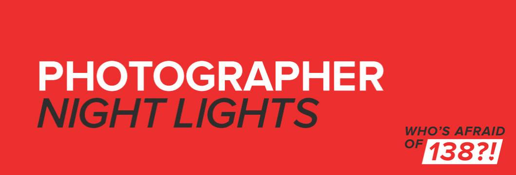 WAO138?!: Photographer – Night Lights out now!