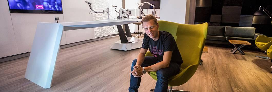 Armin van Buuren opens Radio Studio in Amsterdam