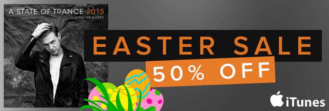 HAPPY EASTER SALE! Get ASOT 2015 at 50% OFF on iTunes!
