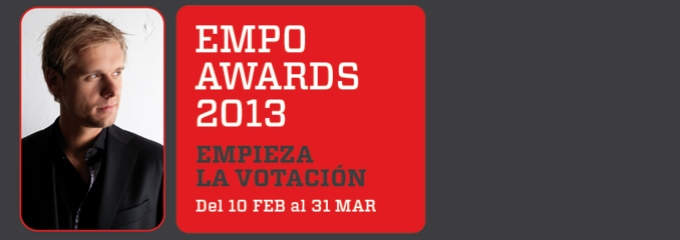 Armin nominated for 10 EMPO awards!