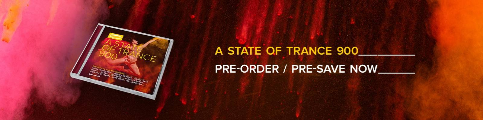 Available for pre-order/pre-save: A State Of Trance 900 (The Official Album)