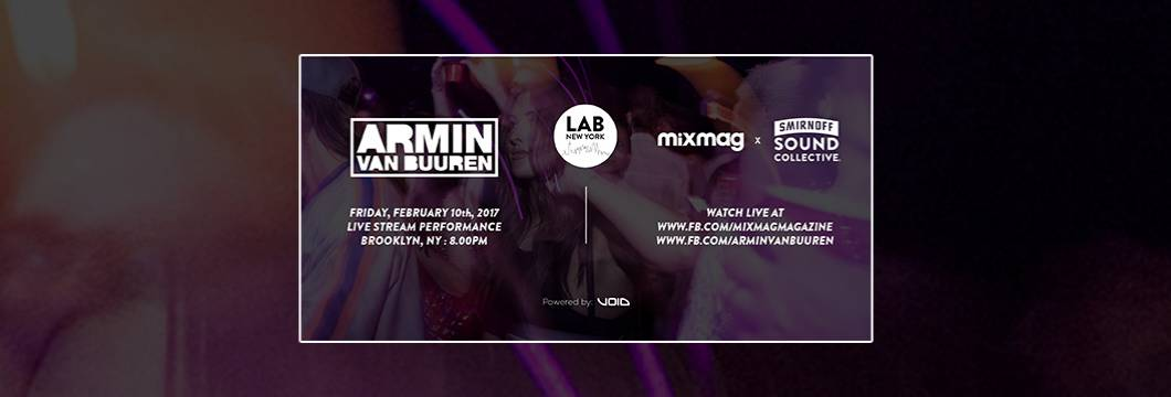 Armin van Buuren to play special Mixmag Lab NYC set!