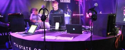 Tracklist Armin's warm-up set ASOT550 Kiev