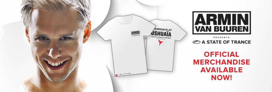 ASOT Ushuaia Merchandise Now Available