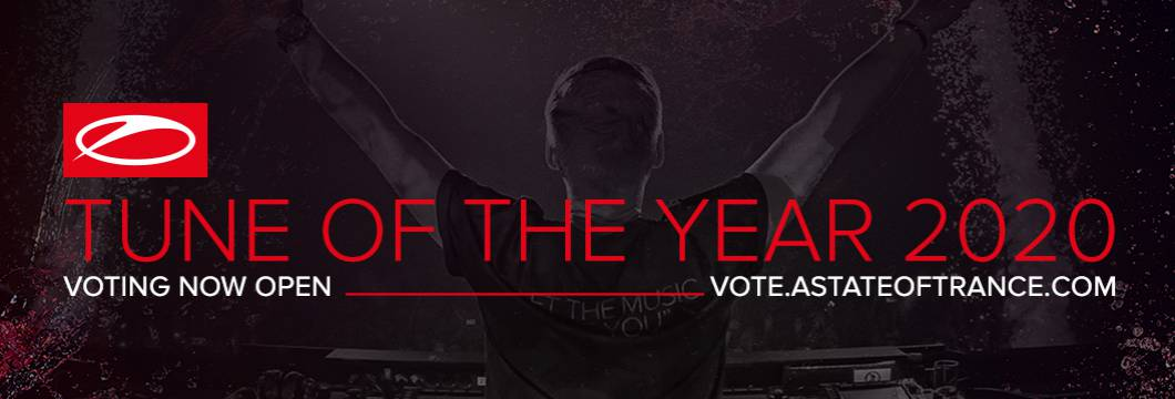 The A State Of Trance 'Tune Of The Year 2020' voting is now open, cast your vote and win!