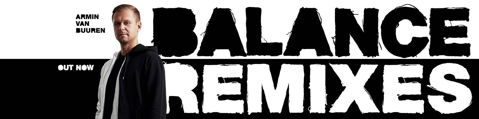Out Now: Armin van Buuren – Balance Remixes