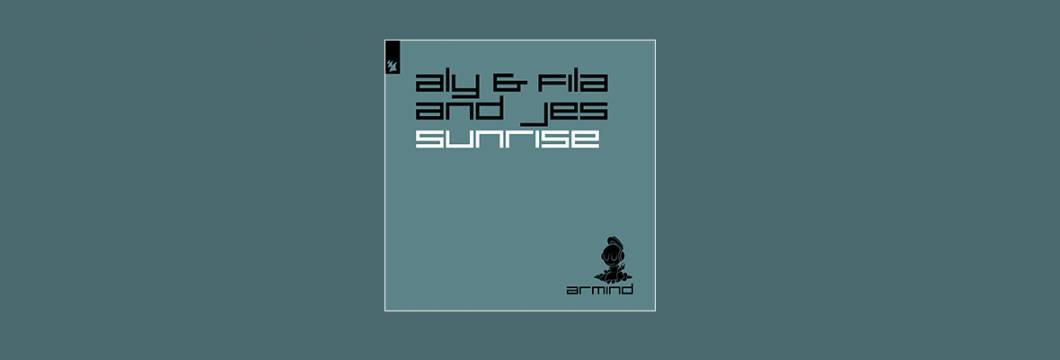 Out Now On ARMIND: Aly & Fila and JES – Sunrise