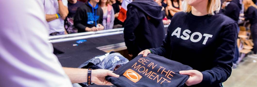 Brand new 'Be In The Moment' A State Of Trance merchandise available in the Armada Music Shop!