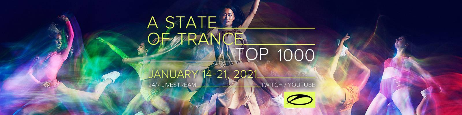 Armin van Buuren's All-Time A State Of Trance Top 1000 List!