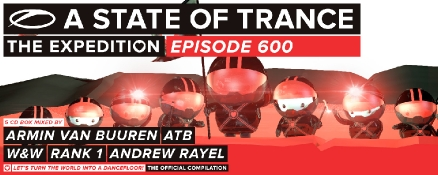 A State Of Trance 600 – The Official Compilation
