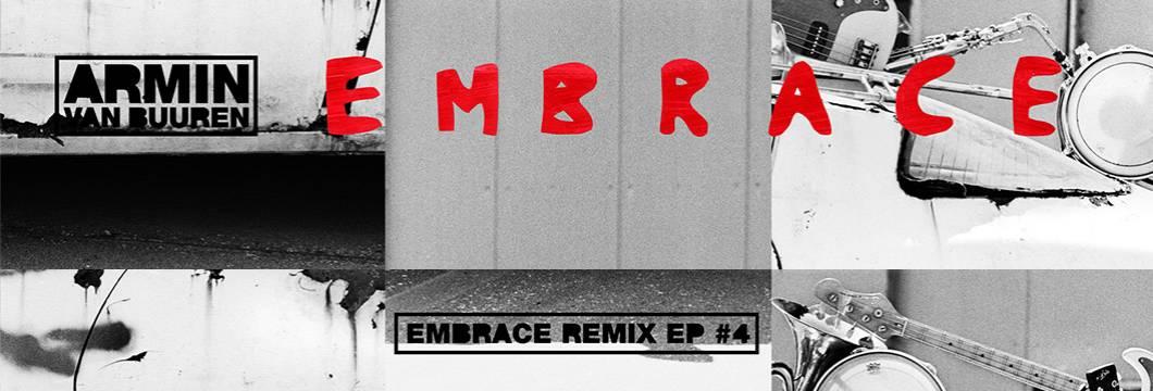 OUT NOW on Armind: Armin van Buuren – Embrace Remix EP #4