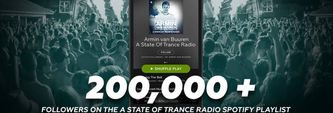 Armin van Buuren Nears One Direction – Has Second Most Streamed Artist Playlist on Spotify