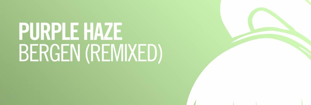 OUT NOW on ARMIND: Purple Haze – Bergen (Remixed)